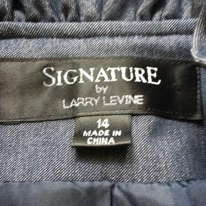 Signature by Larry Levine Jackets & Coats - Signature by Larry Levine Blue Blazer
